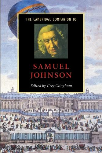 The Cambridge Companion to Samuel Johnson - Cambridge Companions to Literature (Paperback)