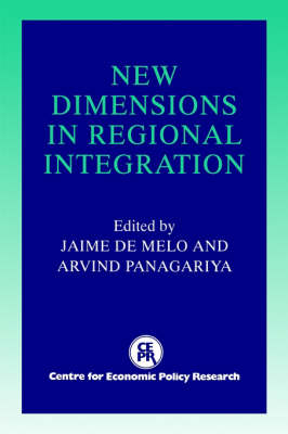New Dimensions in Regional Integration (Paperback)