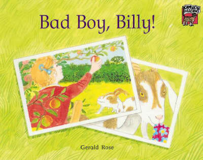 Bad Boy, Billy! - Cambridge Reading (Paperback)