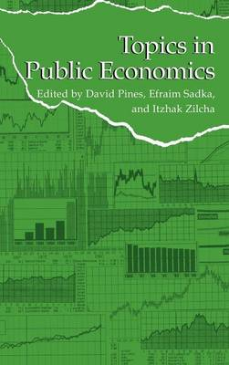 Topics in Public Economics: Theoretical and Applied Analysis (Hardback)