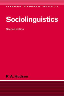 Cambridge Textbooks in Linguistics: Sociolinguistics (Hardback)