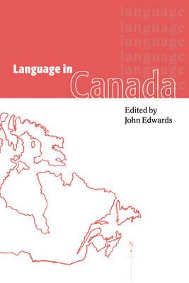 Language in Canada (Paperback)