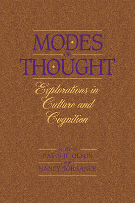 Modes of Thought: Explorations in Culture and Cognition (Paperback)