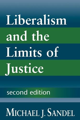 Liberalism and the Limits of Justice (Paperback)