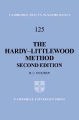 The Hardy-Littlewood Method - Cambridge Tracts in Mathematics 125 (Hardback)