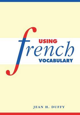 Using French Vocabulary (Paperback)