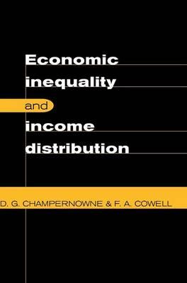 Economic Inequality and Income Distribution (Hardback)