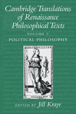 Cambridge Translations of Renaissance Philosophical Texts - Cambridge Translations of Renaissance Philosophical Texts 2 Volume Paperback Set (Paperback)