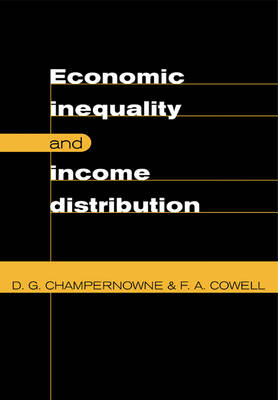 Economic Inequality and Income Distribution (Paperback)