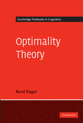 Optimality Theory - Cambridge Textbooks in Linguistics (Paperback)