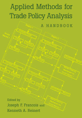 Applied Methods for Trade Policy Analysis: A Handbook (Paperback)