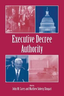 Executive Decree Authority (Paperback)