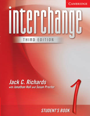 Interchange Student's Book 1: Level 1 (Paperback)