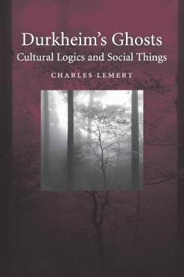 Durkheim's Ghosts: Cultural Logics and Social Things (Paperback)