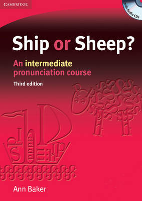 Ship or Sheep? Book and Audio CD Pack: An Intermediate Pronunciation Course