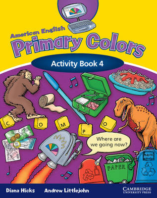 American English Primary Colors 4 Activity Book (Paperback)