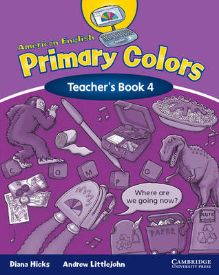 American English Primary Colors 4 Teacher's Book (Paperback)