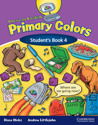 American English Primary Colors 4 Student's Book (Paperback)
