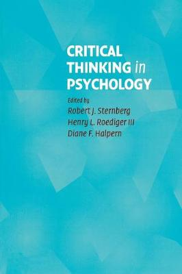 Critical Thinking in Psychology (Paperback)