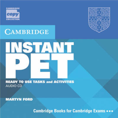 Download Instant Pet Audio Cd Set Ready To Use Tasks And Activities Cambridge Copy Collection Cd Audio Epub Book Epub