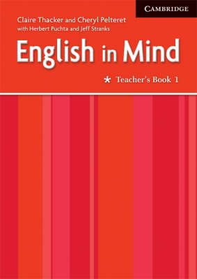 English in Mind 1 Teacher's Book Middle Eastern Edition (Paperback)
