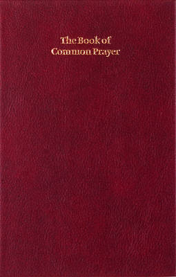 Book of Common Prayer, Enlarged Edition, Burgundy, CP420 701B Burgundy (Leather / fine binding)