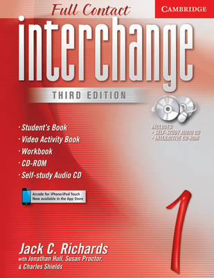 Interchange Full Contact 1 Student's Book with Audio CD/CD-ROM