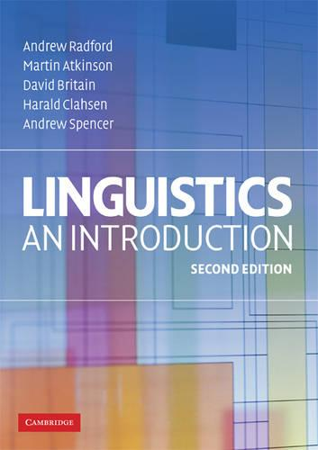 Linguistics: An Introduction (Paperback)