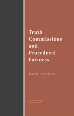 Truth Commissions and Procedural Fairness (Paperback)