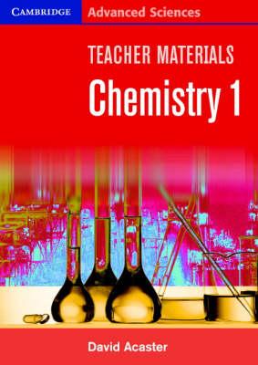 Teacher Materials Chemistry 1 CD-ROM - Cambridge Advanced Sciences (CD-ROM)