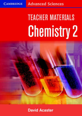 Teacher Materials Chemistry 2 CD-ROM - Cambridge Advanced Sciences (CD-ROM)