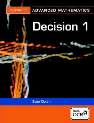 Decision 1 for OCR - Cambridge Advanced Level Mathematics for OCR (Paperback)