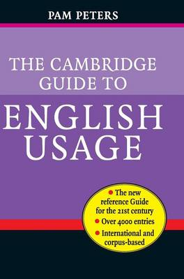 The Cambridge Guide to English Usage (Hardback)