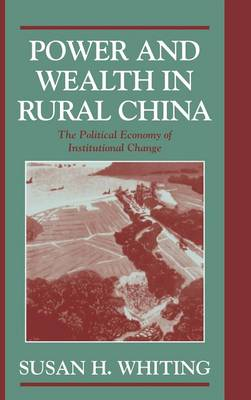 Power and Wealth in Rural China: The Political Economy of Institutional Change - Cambridge Modern China Series (Hardback)