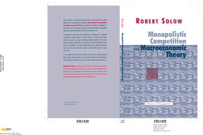 Monopolistic Competition and Macroeconomic Theory - Federico Caffe Lectures (Hardback)