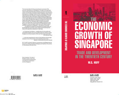 The Economic Growth of Singapore: Trade and Development in the Twentieth Century (Paperback)