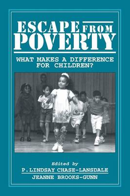 Escape from Poverty: What Makes a Difference for Children? (Paperback)