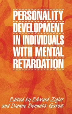 Personality Development in Individuals with Mental Retardation (Hardback)