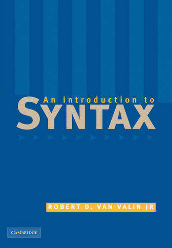 An Introduction to Syntax (Paperback)