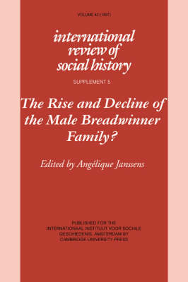 The Rise and Decline of the Male Breadwinner Family?: Studies in Gendered Patterns of Labour Division and Household Organisation - International Review of Social History Supplements 5 (Paperback)