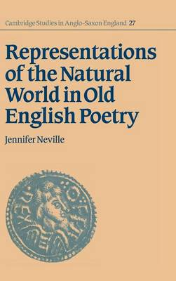 Representations of the Natural World in Old English Poetry - Cambridge Studies in Anglo-Saxon England 27 (Hardback)