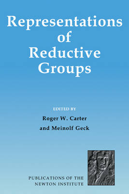 Cover Publications of the Newton Institute: Representations of Reductive Groups Series Number 16