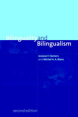 Bilinguality and Bilingualism (Paperback)
