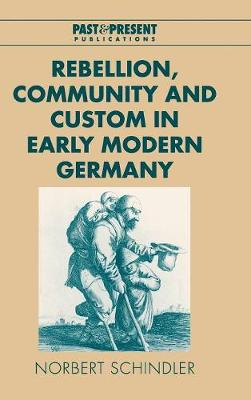 Rebellion, Community and Custom in Early Modern Germany - Past and Present Publications (Hardback)