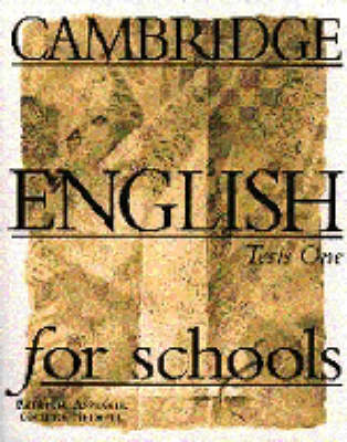 Cambridge English for Schools Tests 1 (Paperback)