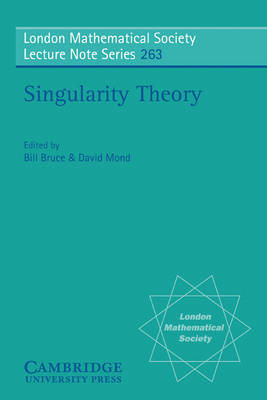 Singularity Theory: Proceedings of the European Singularities Conference, August 1996, Liverpool and Dedicated to C.T.C. Wall on the Occasion of his 60th Birthday - London Mathematical Society Lecture Note Series 263 (Paperback)