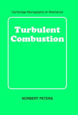 Turbulent Combustion - Cambridge Monographs on Mechanics (Hardback)