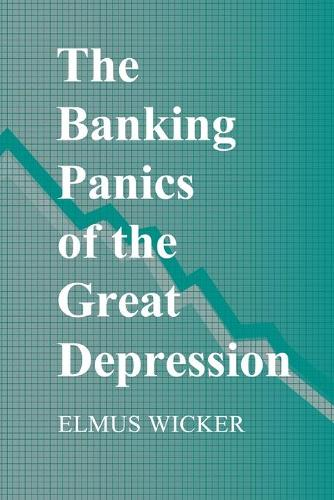 The Banking Panics of the Great Depression - Studies in Macroeconomic History (Paperback)