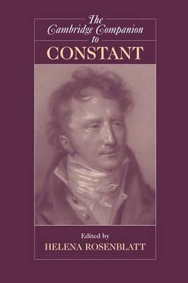 The Cambridge Companion to Constant - Cambridge Companions to Philosophy (Paperback)