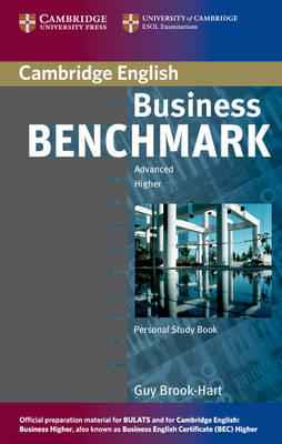 Business Benchmark Advanced Personal Study Book for BEC and BULATS (Paperback)